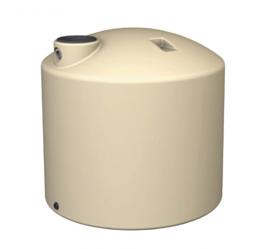 1800 Litre (400 Gal) - Poly Water Tank Round