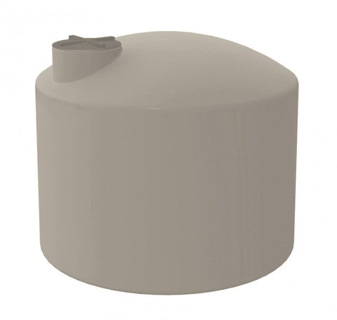 3000 Litre SQUAT (660 Gal) - Poly Water Tank Round