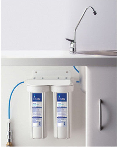 Twin Under Sink Dual Water Filter Kit