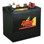Solar Battery - Crown 6v 220Amp Hour Deep Cycle Lead Acid Solar Battery