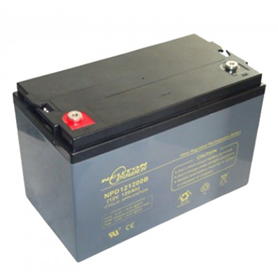Solar Battery - Neuton Power 12 Volt 120Amp Hour AGM Deep Cycle Battery