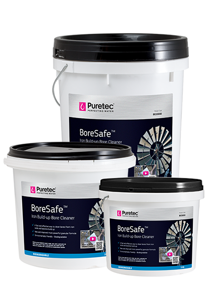 BoreSafe Bore Water Iron Treatment