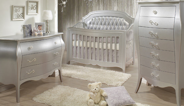 Get The Look - An Opulent Nursery Inspired By Winter