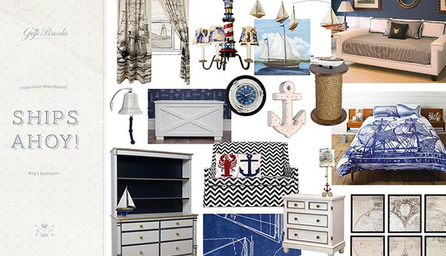 Get the Look - A Nautical Theme For Your Child's Bedroom or Nursery
