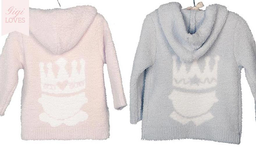 Gigi Loves - Barefoot Dreams Royal Welcome Hoodie