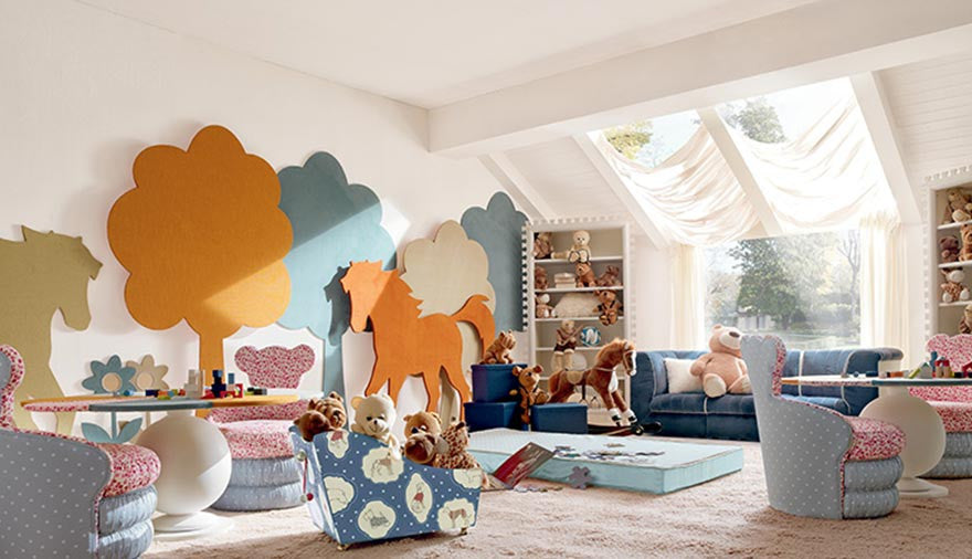Essential Funiture and Accessories for a Perfect Playroom