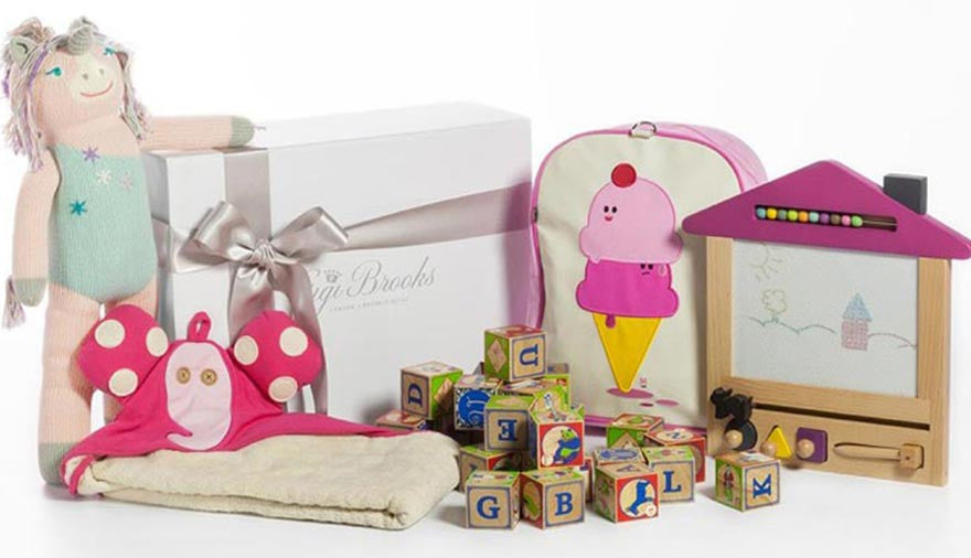 Bespoke Luxury Gift Boxes for Babies and Children from Gigi Brooks
