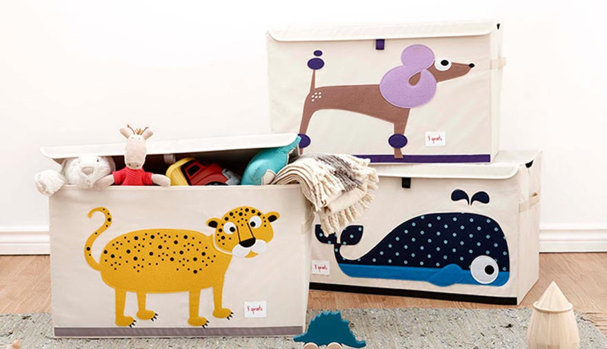 Stylish Toy Storage & Top Tips for Keeping Clutter to a Minimum