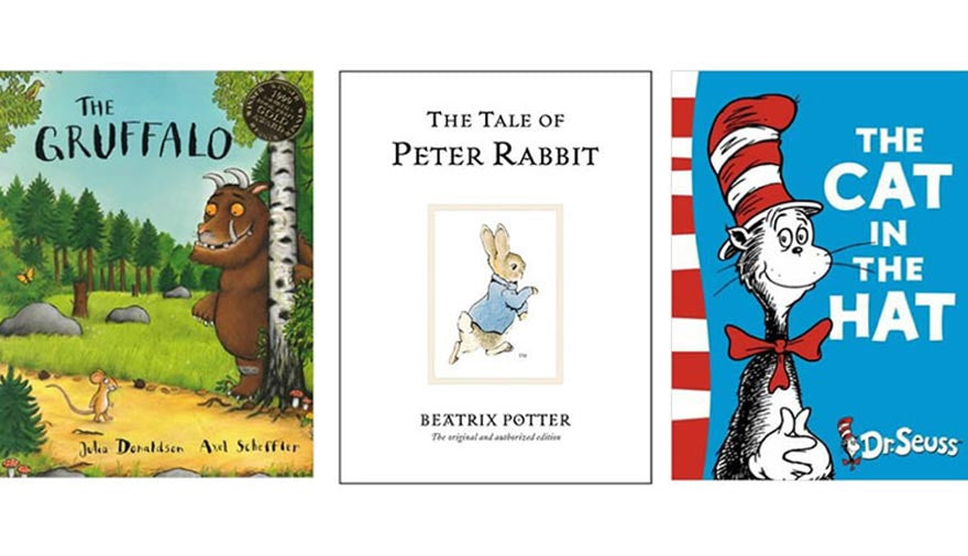 10 Books to Start a Child's Library