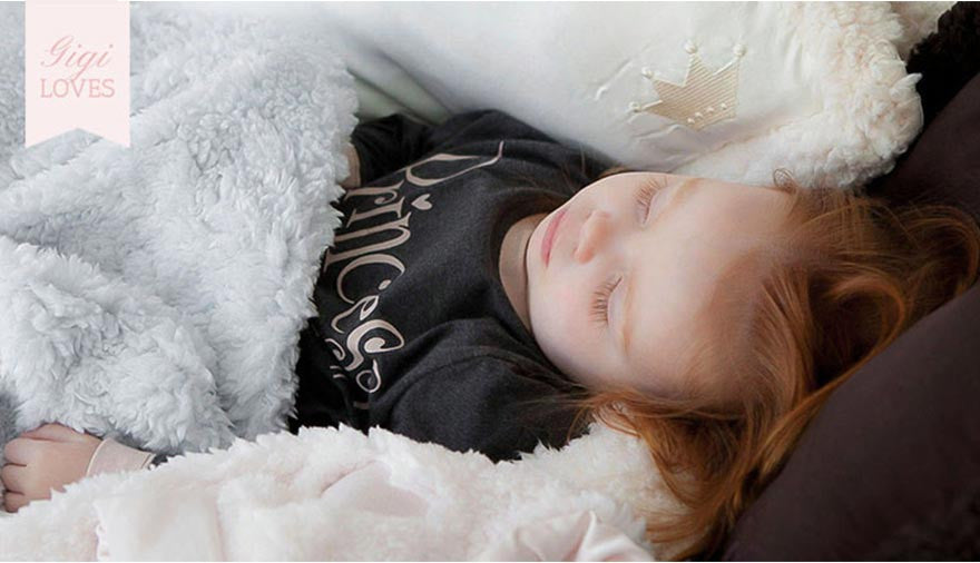 Gigi Loves ~ Florence Cloud Nap Blanket & Pillow Set