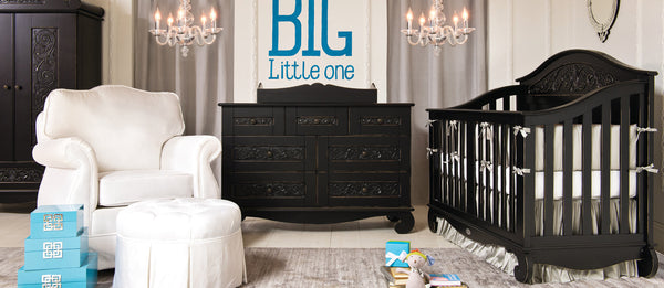 Chelsea Nursery In Distressed Black