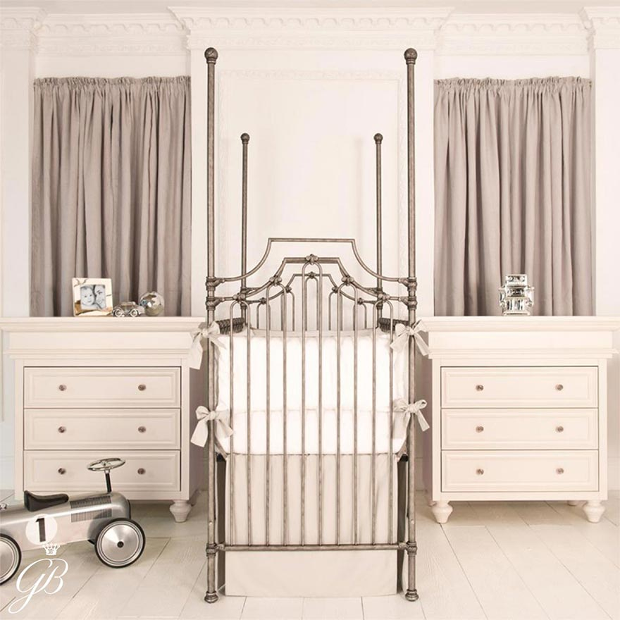 Get the Look - Glamorous Nursery with Metallic Details