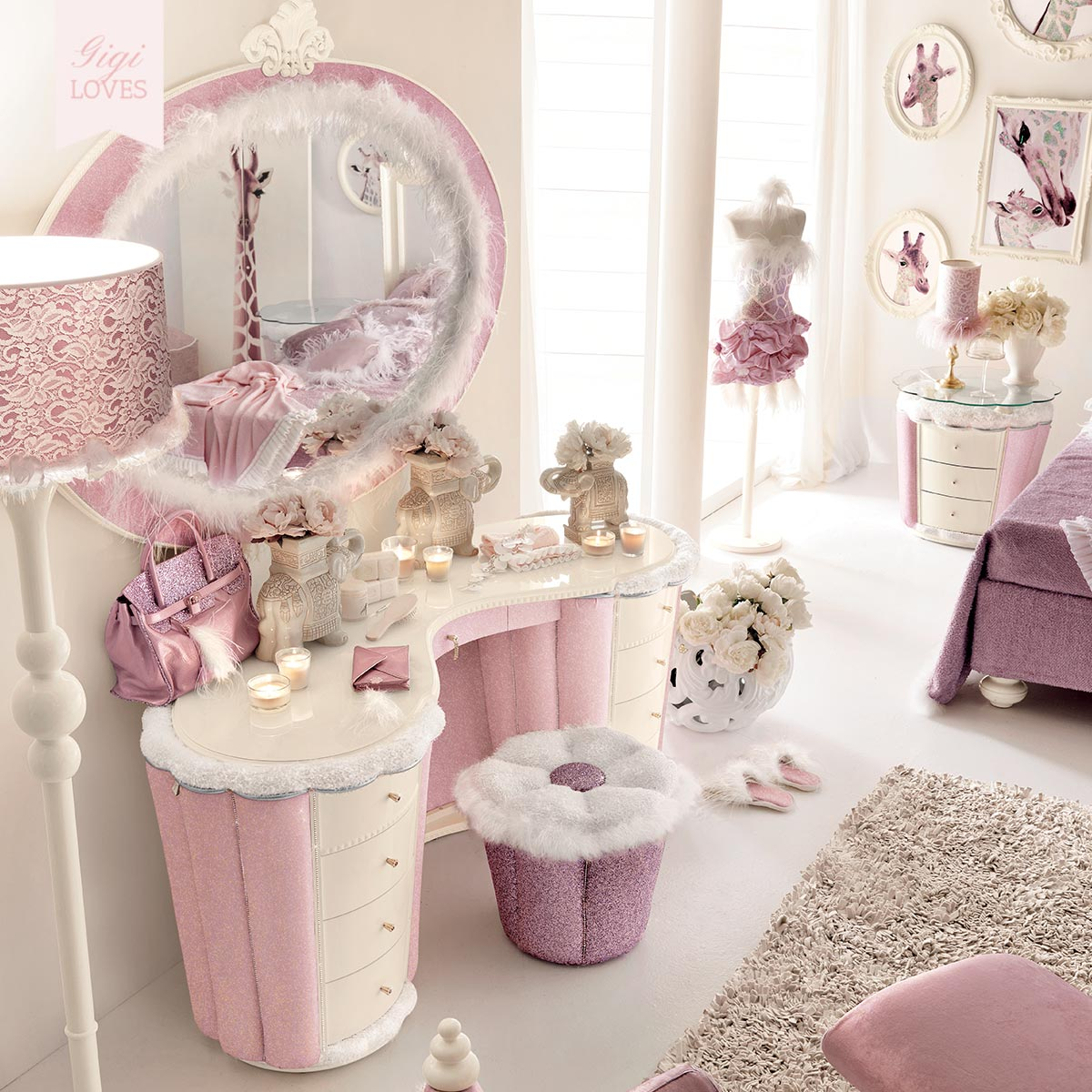Gigi Brooks Luxury Children's Furniture The Ophelia Collection