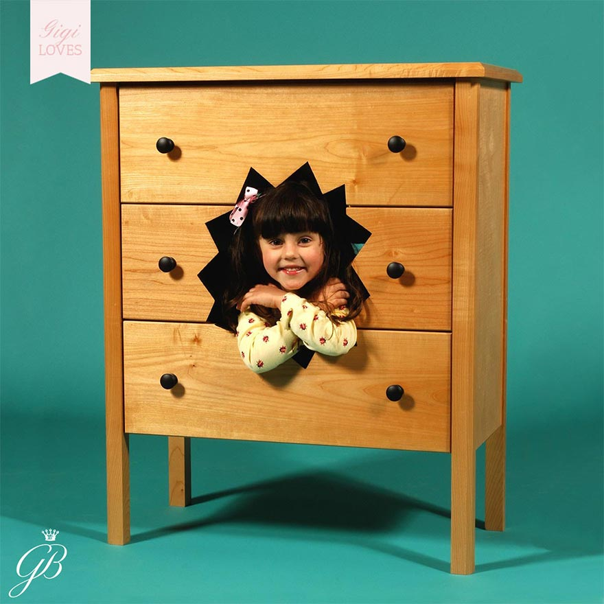 Gigi Loves - Fun and Funky Children's Furniture by Straight Line Designs