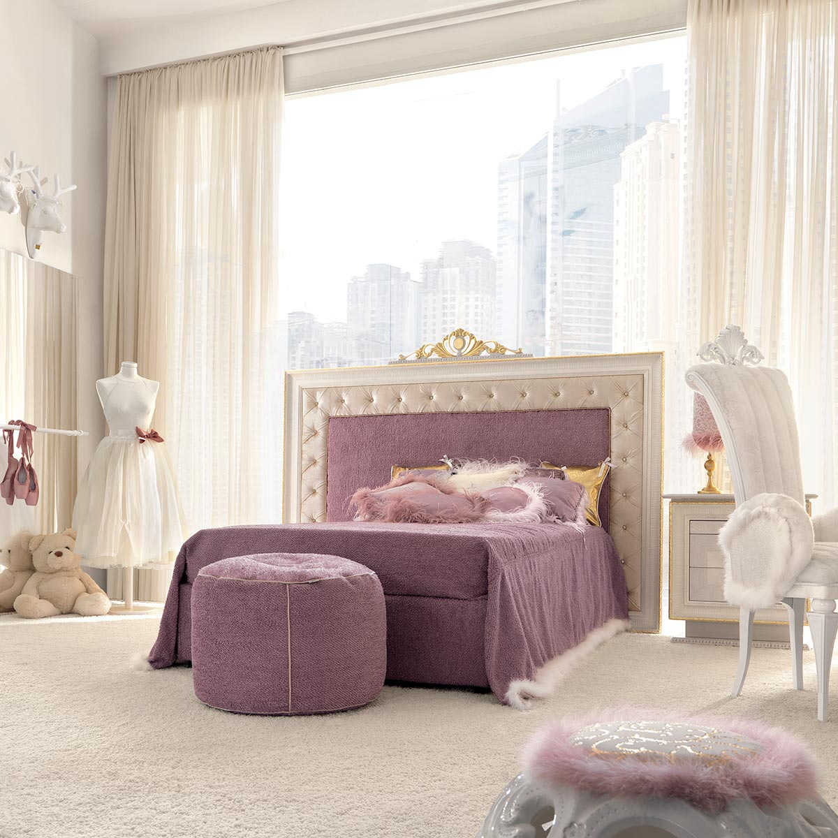 Gigi Brooks The Beauty of a Bespoke Children's Bed