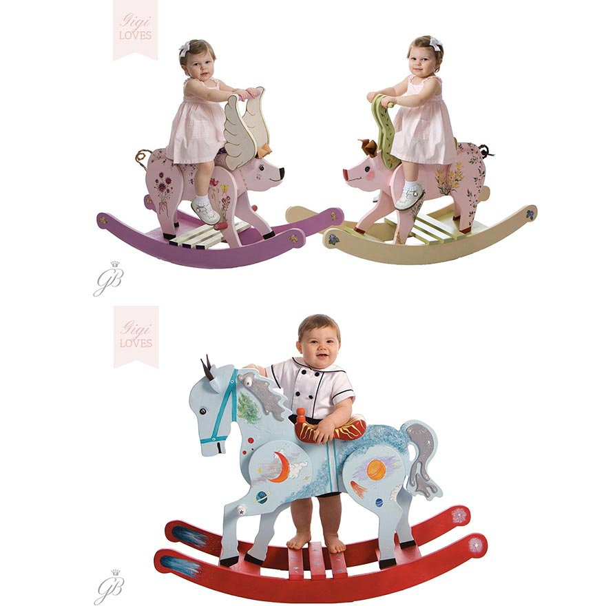 Gigi Loves - Bespoke Rocking Horses