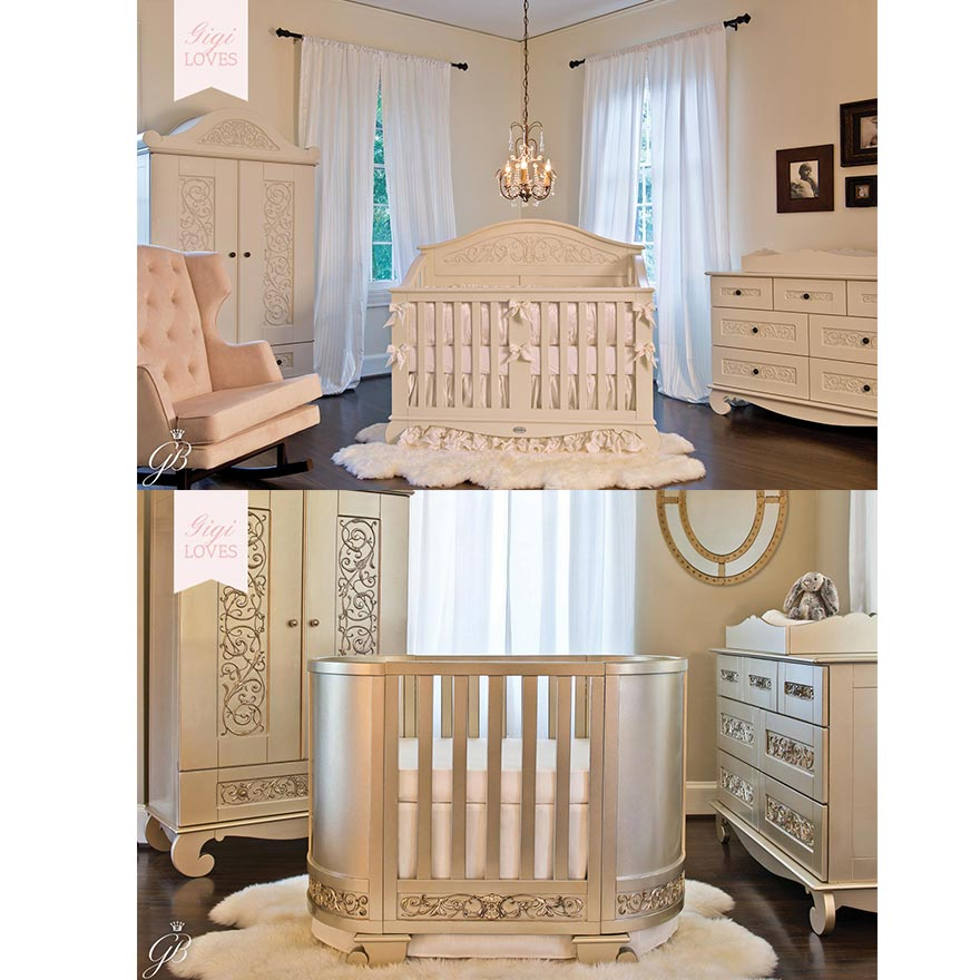 Gigi Loves - Dreamy Designer Cribs by Bratt Decor