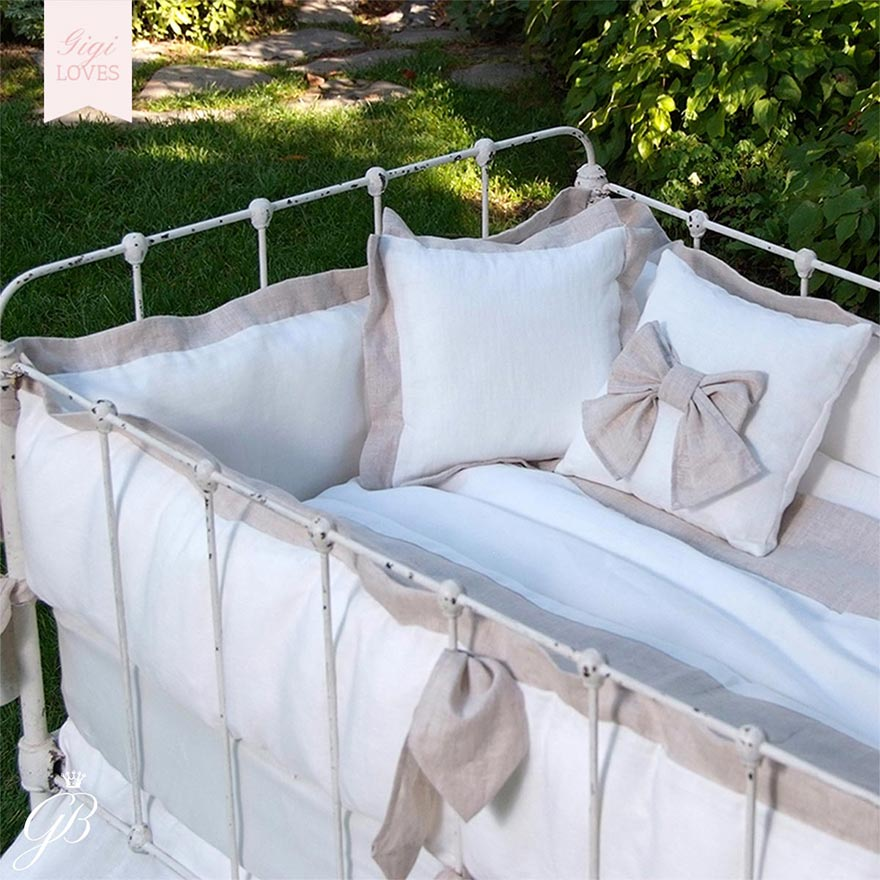 Gigi Loves - Luxury Baby Linens, Bassinets, Cribs and Moses Baskets