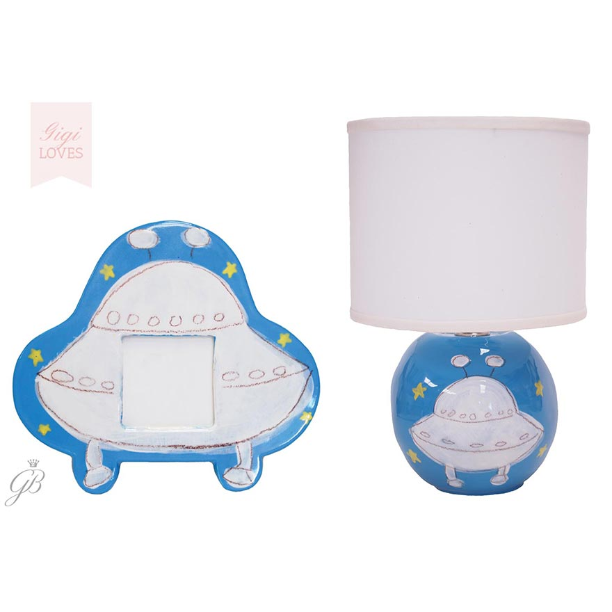 Gigi Loves - Spaceship Table Lamp