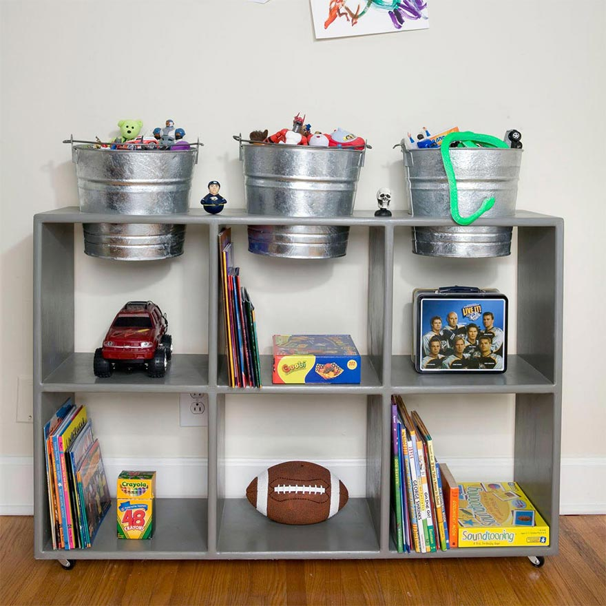 Unique Ways to Store Children's Toys and Games