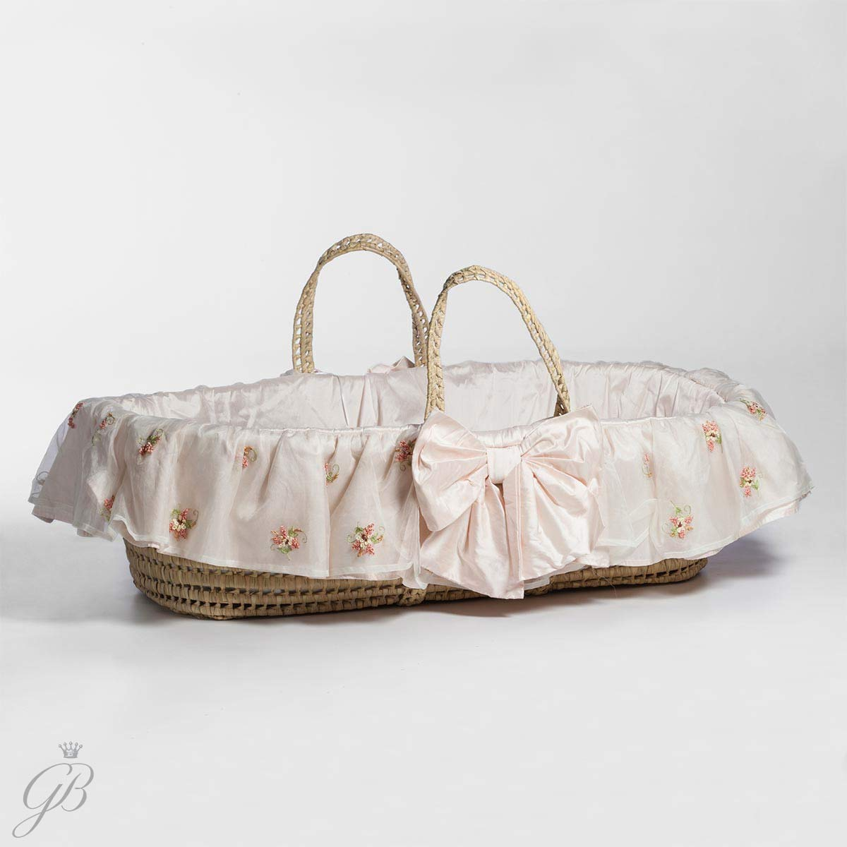 Lulla Smith Belle Bows Moses Basket