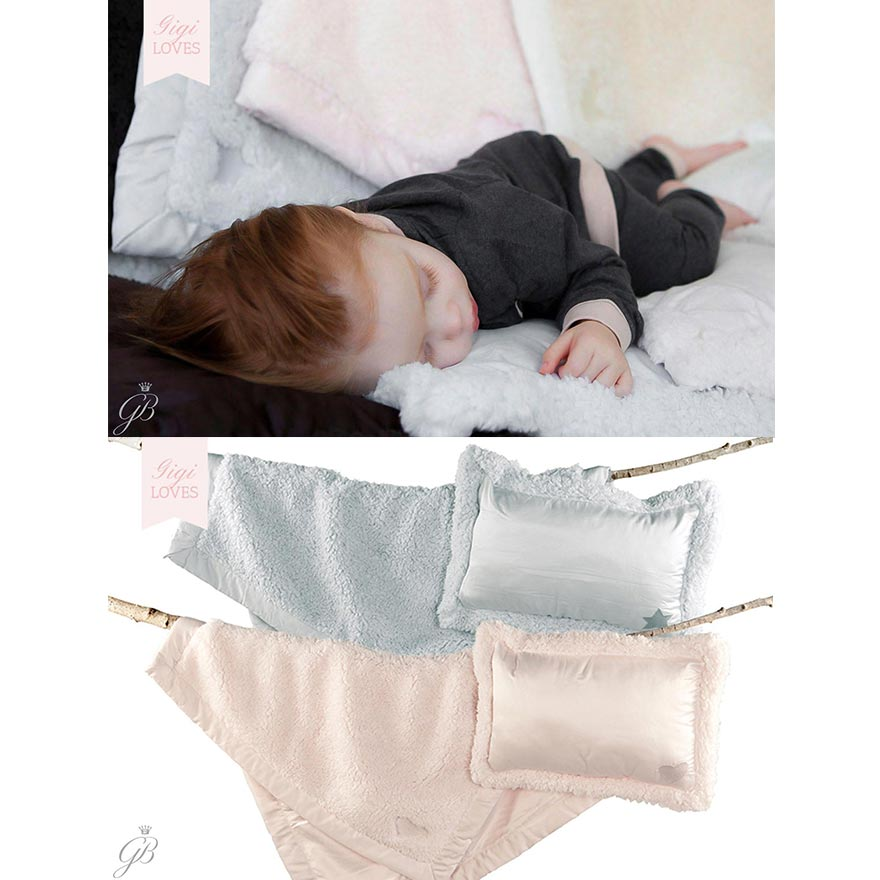 Gigi Loves - Florence Cloud Nap Blanket & Pillow Set