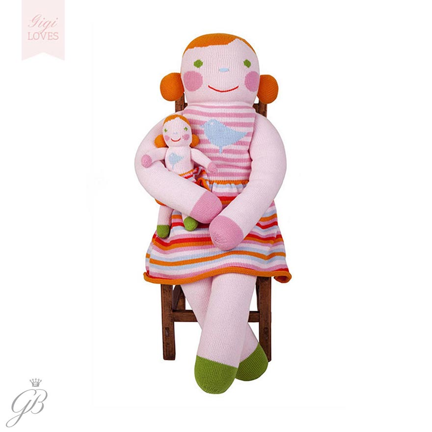 Gigi Loves ~ Blabla Pumpkin The Girl Giant Knitted Doll