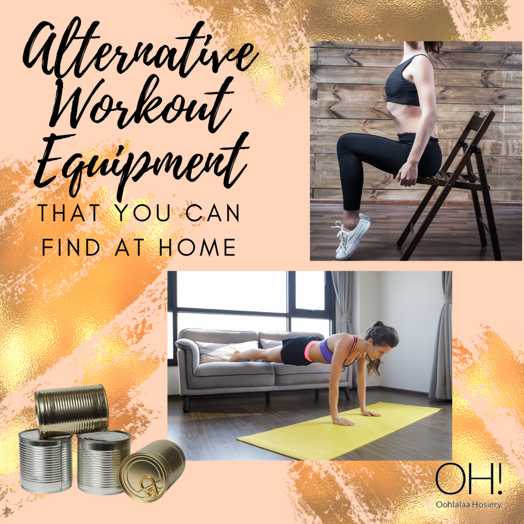 Alternative Workout Equipment That You Can Find at Home