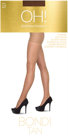 Bondi Tan Pantyhose Single Pack