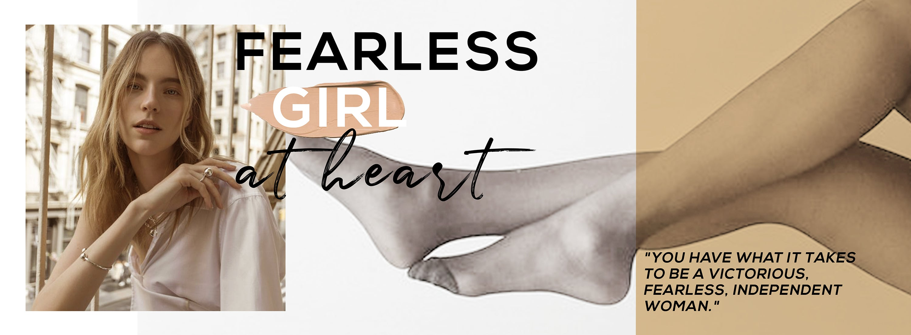 Fearless Girl at Heart Oohlalaa Hosiery Blog