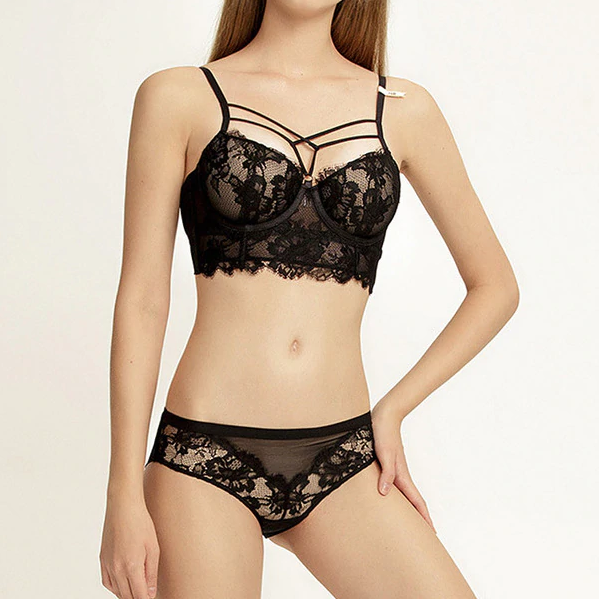 CHLOE STRAPPY LACE - Oohlalaa Hosiery!