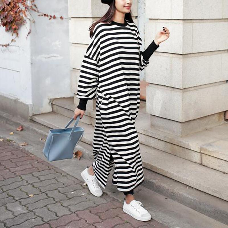 MAXI SWEATSHIRT DRESS - Oohlalaa Hosiery!