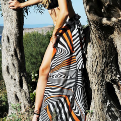 KAFTER BEACH DRESS - Oohlalaa Hosiery!