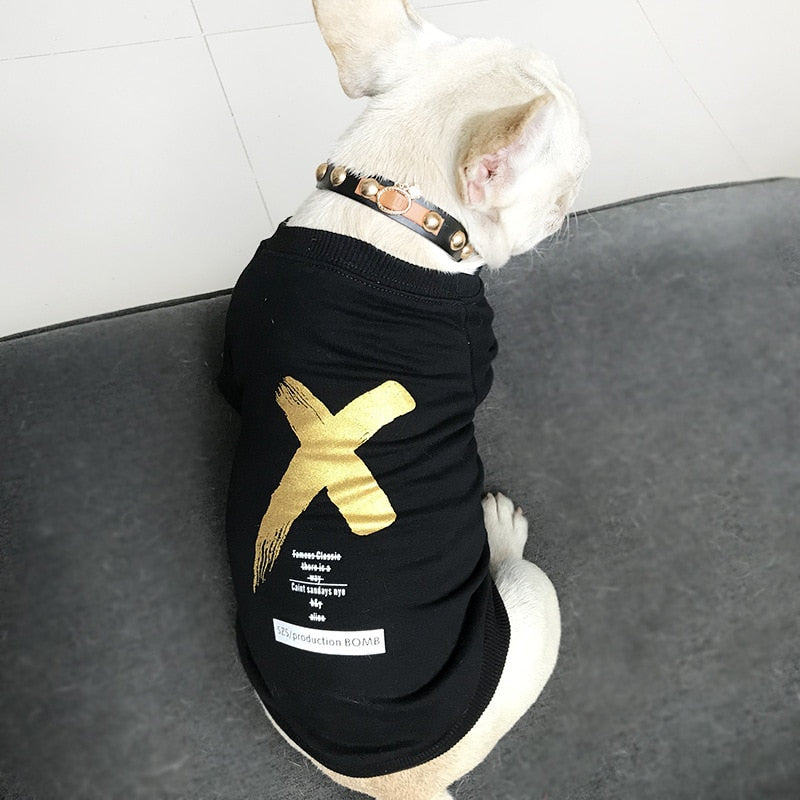 THE X-FACTOR T-SHIRT FOR DOGGY AND HER - Oohlalaa Hosiery!