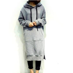 CASUAL LONG HOODED - Oohlalaa Hosiery!