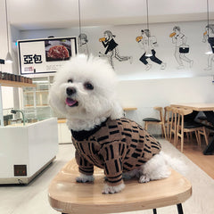 COFFEE DOG SWEATER - Oohlalaa Hosiery!
