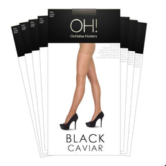Black Caviar Pantyhose 8 Pack - Monthly Subscription - Oohlalaa Hosiery!