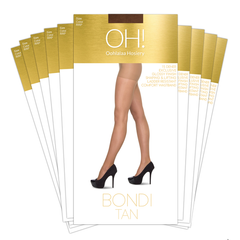 Bondi Tan 10 Packs - Oohlalaa Hosiery!