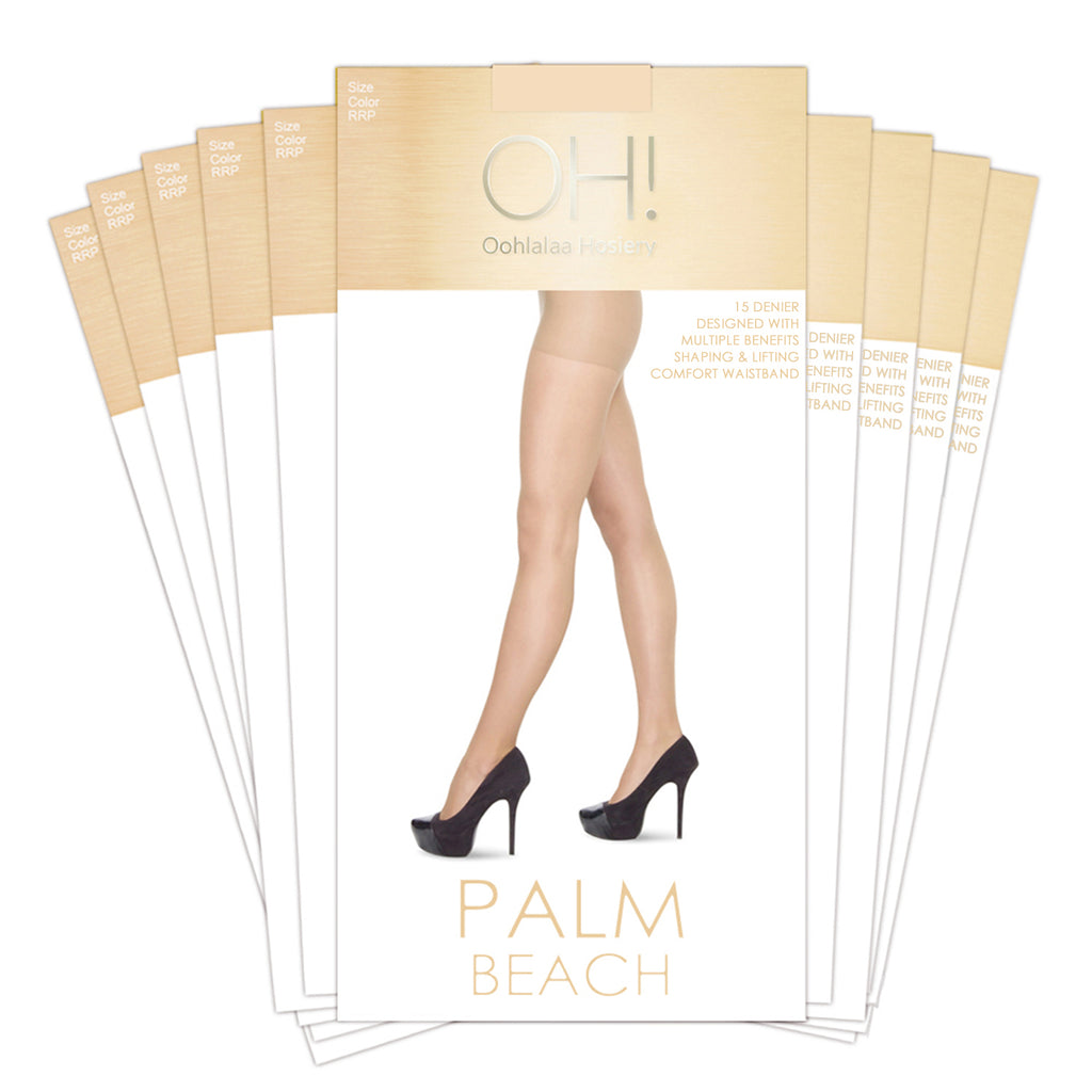 Palm Beach 10 Pack - Oohlalaa Hosiery!