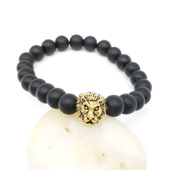 SHELL HARD LION HEAD BRACELET - Oohlalaa Hosiery!