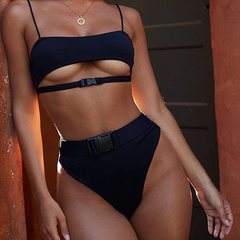 GEORGIA CUT-OUT BIKINI SET - Oohlalaa Hosiery!