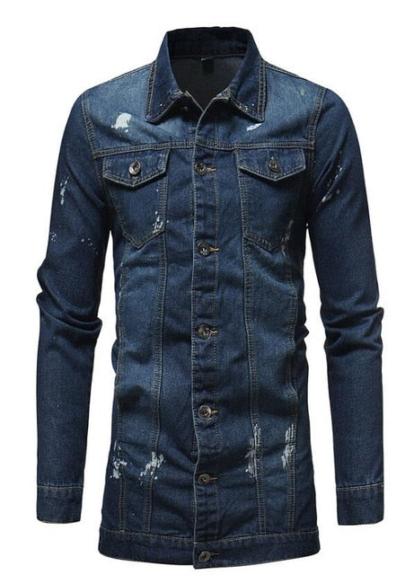 DENIM JACKET - Oohlalaa Hosiery!