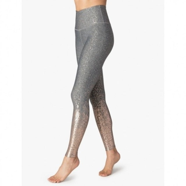 STELLA STYLISH WORKOUT LEGGINGS - Oohlalaa Hosiery!