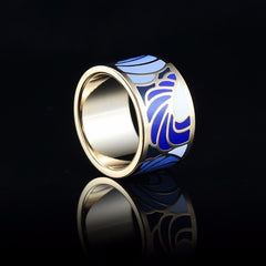 ANGEL WINGS RING - Oohlalaa Hosiery!