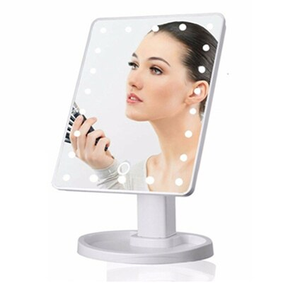 Touch Screen LED Make-up Mirror - Oohlalaa Hosiery!