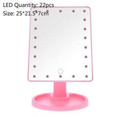 LED Touch Screen Luxury Makeup Mirror - Oohlalaa Hosiery!