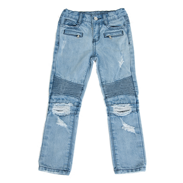 Haus of JR Clayton Distressed Denim Kids Jeans