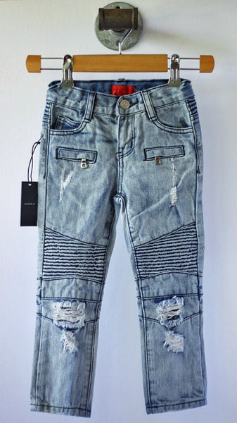 Clayton Distressed Denim - Size 4T