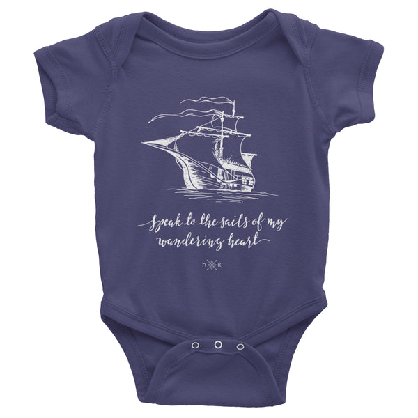 Onesie - Infant Heysailor_ X NK Kids Heart Onesie