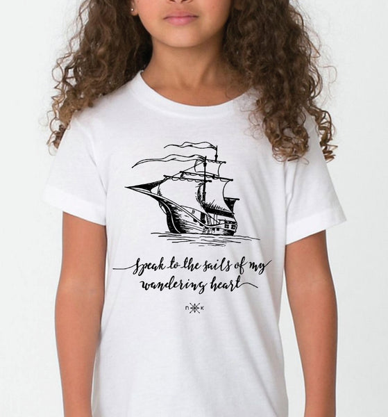 Tops - Heysailor_ X NK Kids Organic Short Sleeve T-Shirt
